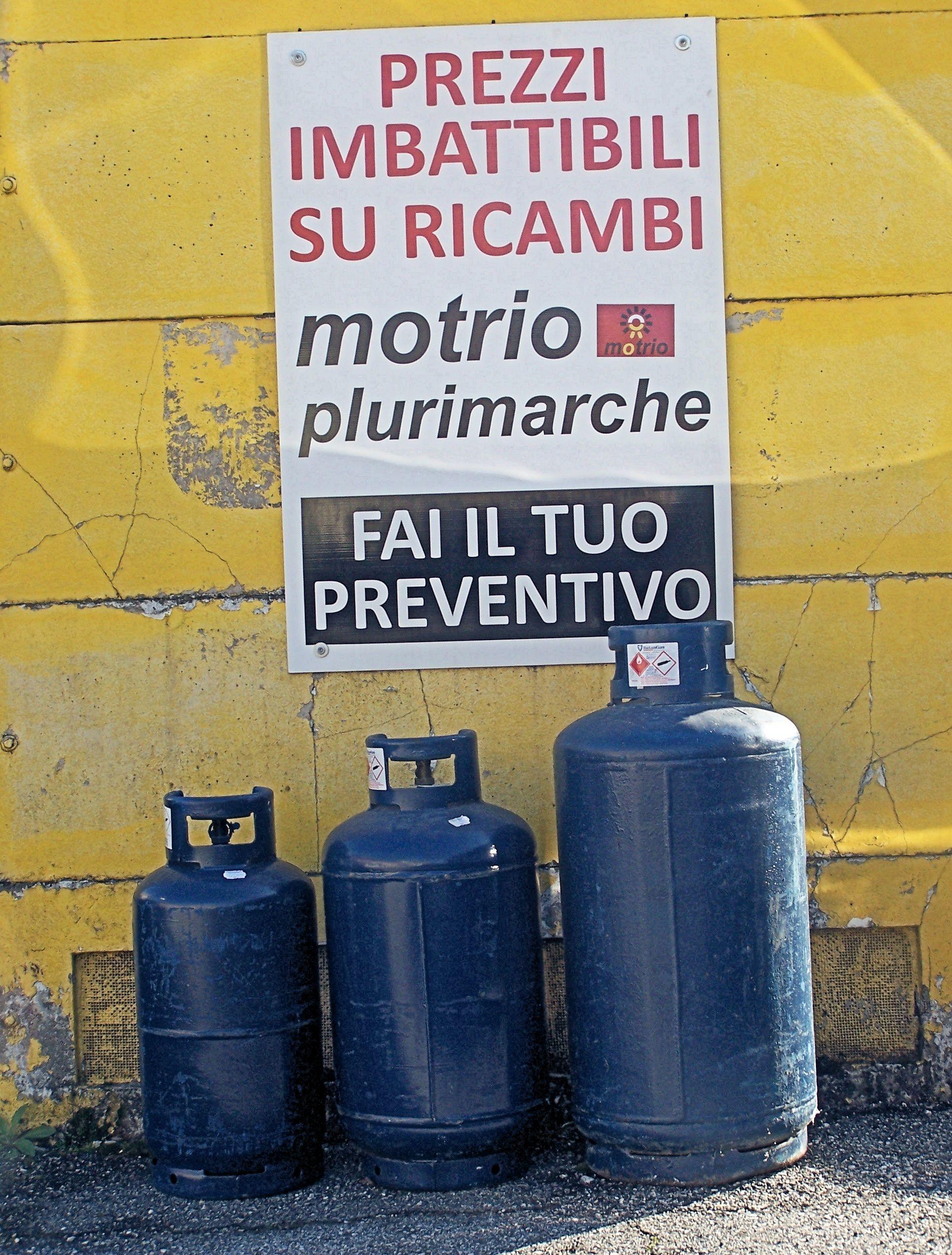 Bombole gas.